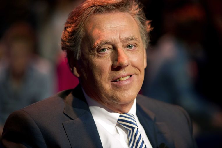 Ed Nijpels tijdens opnames van het VPRO programma Premier Gezocht. Beeld ANP Kippa