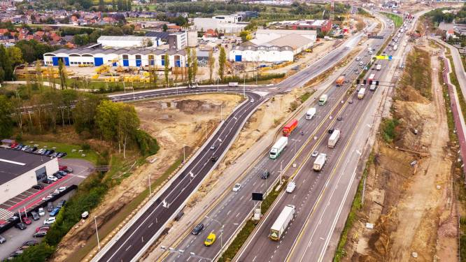Aannemer Oosterweel start dit weekend met heraanleg E17 tussen Zwijndrecht en Antwerpen-West