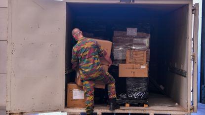 """29ste Bataljon Logistiek onmisbare schakel in Provincie Antwerpen tijdens coronacrisis: """"27 miljoen persoonlijke beschermingsmiddelen verdeeld"""""""