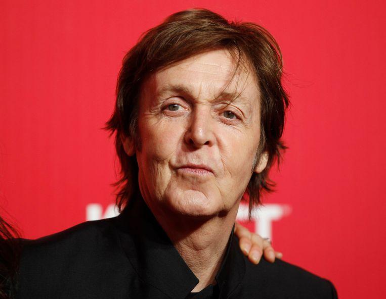 Paul McCartney in 2012 Beeld REUTERS