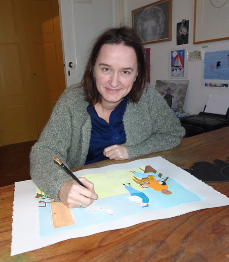 Opnieuw origineel prentenboek van Milja Praagman uit Boxtel