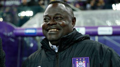 """Ghanese ex-Anderlecht-vedette gaat samenwerken met paars-wit: """"Veel nieuwe Lampteys in mijn academie"""""""
