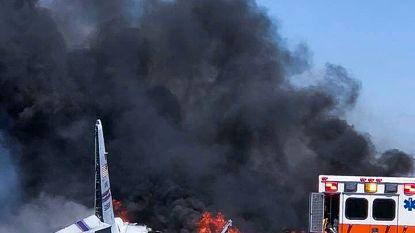 Militair transportvliegtuig gecrasht in Amerikaanse staat Georgia: vijf doden