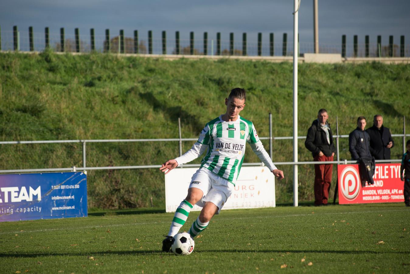 Maarten van Vooren miste de beslissende strafschop namens Kloetinge.