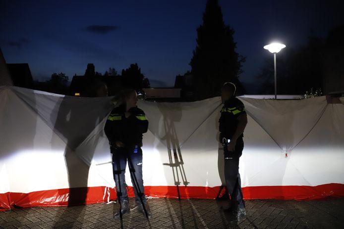 Onderzoek naar de schietpartij aan de Leeuwerik in Boxmeer.