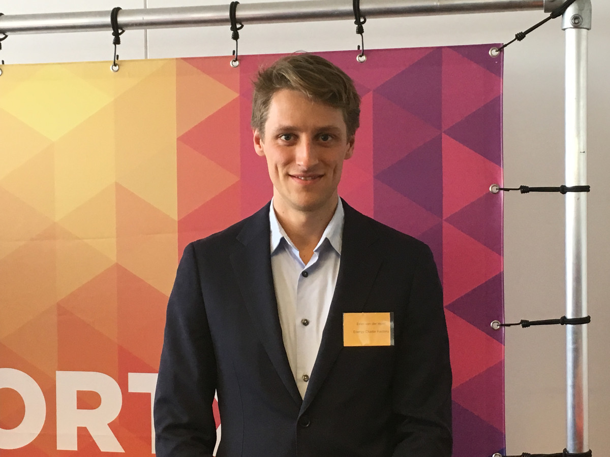 Evan van der Holst.