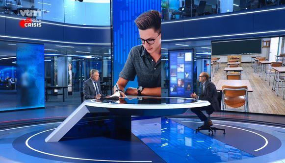 Vlaams minister van Onderwijs Ben Weyts (N-VA) beantwoordde lezersvragen in het VTM NIEUWS.