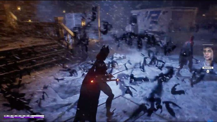 Screenshot uit een vroege demo van de game.