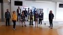 Aftrap van het project waarbij jongerenwerkers van PowerUp073 aan de slag gaan op de Bossche Vakschool.