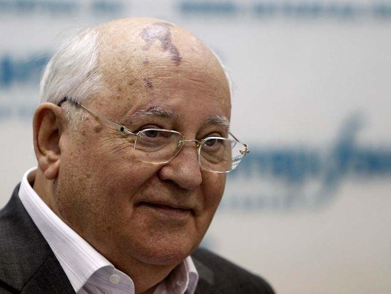 De oud-Sovjetleider Michael Gorbatsjov Beeld reuters