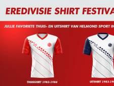 Eervolle vermelding voor Helmond Sport in shirtjesverkiezing: 'Apart, afwijkend ontwerp'