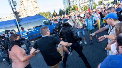 Honderden gewonden bij betoging tegen corruptie in Roemenië