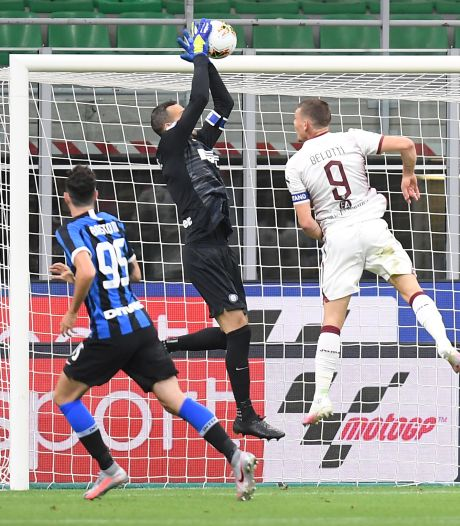 Inter ondanks blunder Handanovic langs Torino