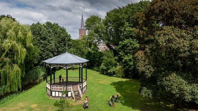 Het optreden van de band Lemonade in de muziekkoepel in Park Rams Woerthe in Steenwijk kan zaterdagavond doorgaan.