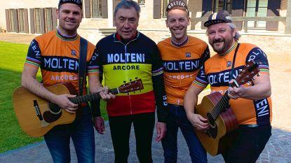 De Molteni's op bezoek bij Eddy Merckx: Sint-Niklase band bij de Kannibaal voor goede doel