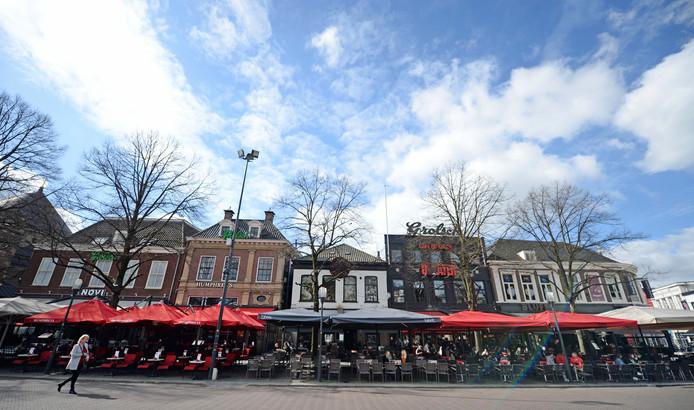 Binnenstad van Enschede, foto ter illustratie.