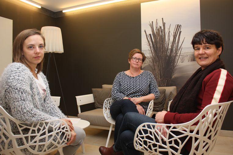 Melissa Nobels, Régine Masschelein en Ilse Avereyn vertellen over hun leven met kanker
