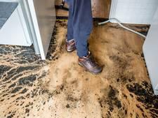 Zomerse plensbui veroorzaakt overstroming in Apeldoornse woning