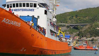 Frankrijk bereid om migranten van vluchtelingenschip Aquarius op te vangen