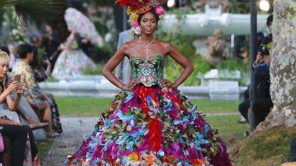 Pure extravagantie op de 'Alta Moda'-modeshow van Dolce & Gabbana