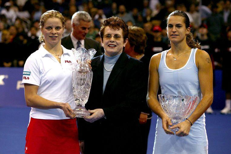 Ook in 2003 was het raak voor Clijsters op de Masters. Ze versloeg Amélie Mauresmo in de finale.