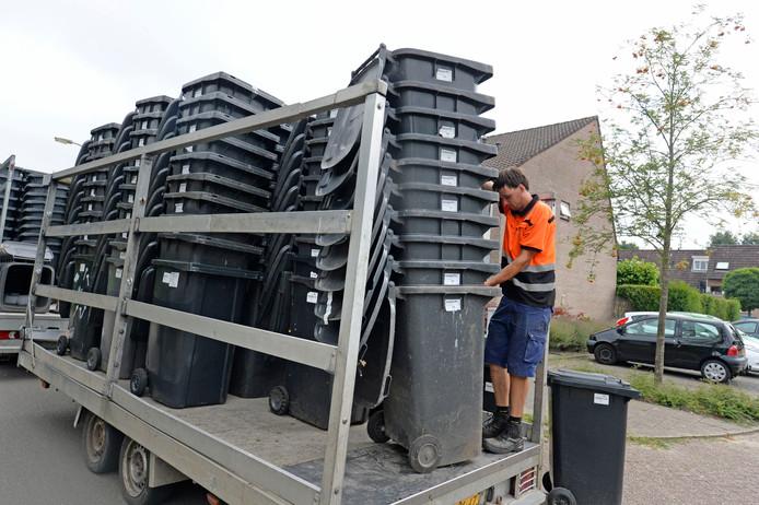 Net als in Hengelo kunnen de grijze containers in Oldenzaal vanaf 2023 worden ingenomen als de gemeente inderdaad overstapt op het systeem van omgekeerd inzamelen.