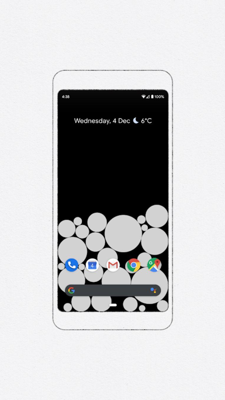 Google Welness Bubbles Beeld Google