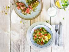 Wat Eten We Vandaag: Tabouleh met gepaneerde lamskoteletten