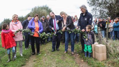 Nieuwe trage weg zorgt voor verbinding tussen Mespelare en Gijzegem