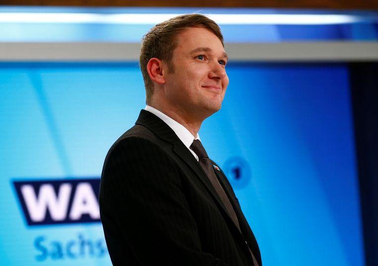 André Poggenburg  moest in maart al opstappen als fractievoorzitter van de AfD in de deelstaat Saksen-Anhalt.