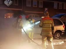 Nachtelijke autobrand in Hilversum