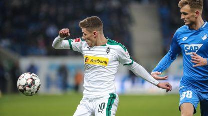 Thorgan Hazard verliest punten met Mönchengladbach en ziet Bayern op gelijke hoogte komen