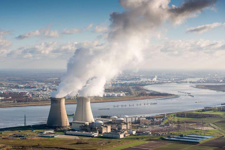 Een van de kernreactoren van Doel, België. Beeld ANP