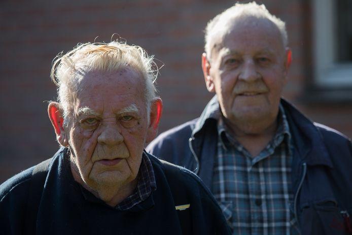 Frans en Hein van Oldeniel uit Heeten werden vorig jaar overvallen.