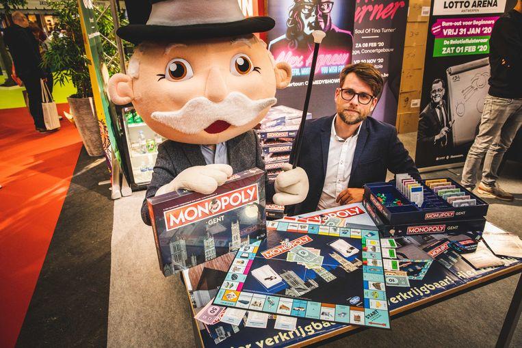 Cedric Libbrecht bij Monopoly Gent