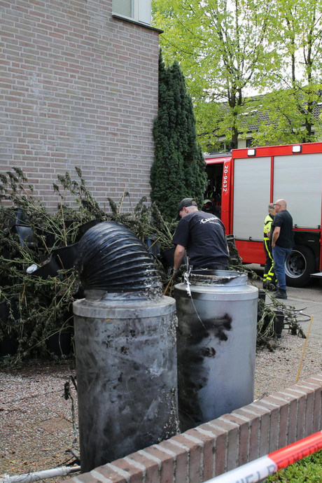 Woningbrand legt hennepkwekerij bloot in Tilburg