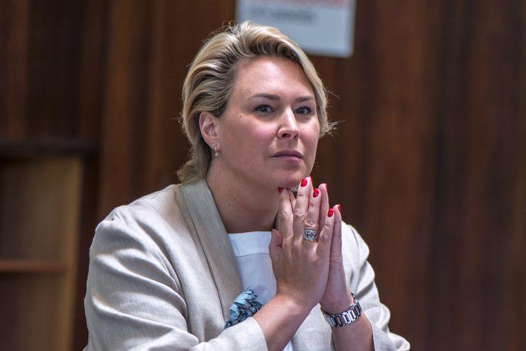 Brussels minister Céline Fremault (cdH).