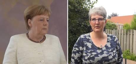Jolanda trilt extreem als ze lang staat: Wat Angela Merkel heeft, heb ik ook!