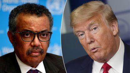 """WHO slaat keihard terug naar Trump: """"Gebruik coronacrisis niet om politiek te scoren als je niet nog meer lijkzakken wil"""""""