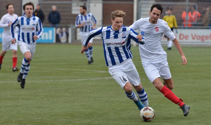 Rik Elings op archiefbeeld. De speler van FC Lienden speelt komend seizoen bij Echteld.