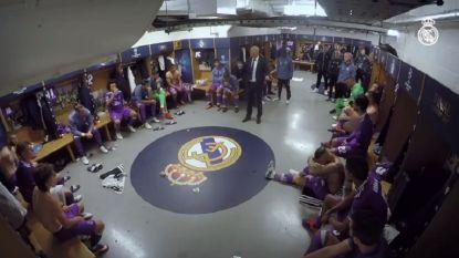"""Dit is wat Zidane tijdens de rust van de CL-finale aan zijn troepen vertelde waarop zij met 4-1 wonnen van Juventus: """"Het moet agressiever!"""""""
