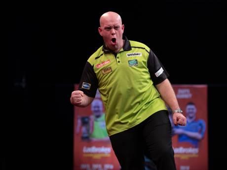 Van Gerwen lijkt klaar voor WK darts met titel Players Championhip Finals