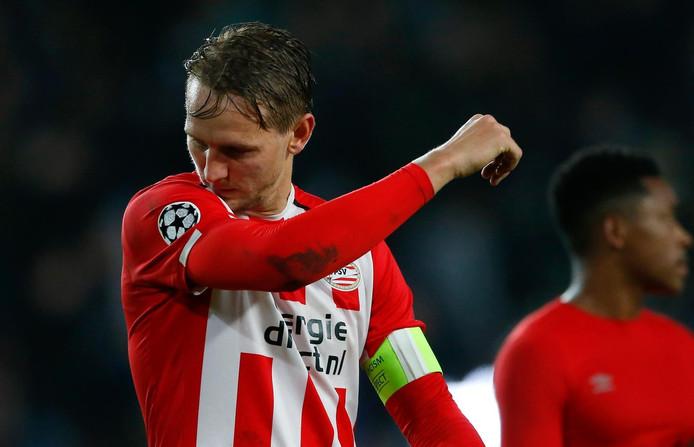 Luuk de Jong is op zoek naar goals.