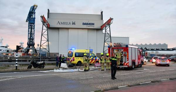 Motorrijder gewond bij aanrijding in Vlissingen.