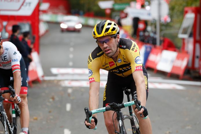 20-10-2020 Vuelta A Espana; Tappa 01 Irun - Arrate; 2020, Jumbo - Visma; Dumoulin, Tom; Arrate;