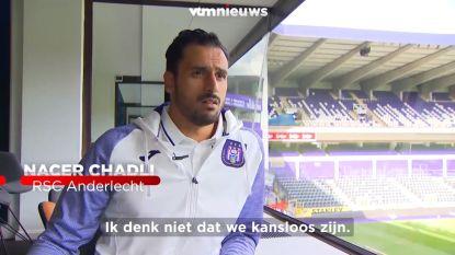 """Nacer Chadli: """"Wij zijn niet kansloos tegen Club Brugge"""""""