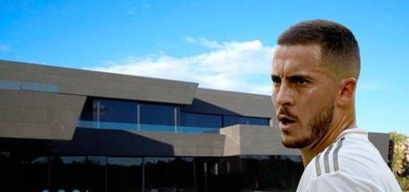 Salle de cinéma, spa, ... La villa à 11 millions d'euros d'Eden Hazard à Madrid