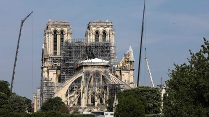 Hoge concentratie stof in bodem vastgesteld na brand Notre-Dame