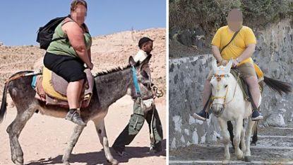 Wie meer dan 100 kilo weegt, mag niet meer op ezel rijden in Griekenland