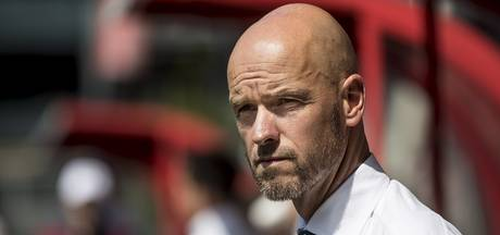 Weekend vol emoties voor Ten Hag:   zoon krijgt ongeluk, Utrecht Europa in